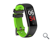 PULSERA SMARTBAND FITNESS FASHION HEALTH VERDE LEOTEC